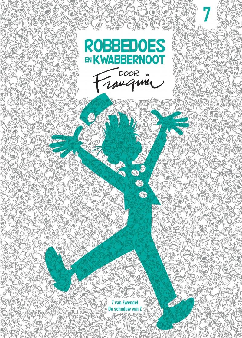 Robbedoes en Kwabbernoot door Franquin - tome 7 - Robbedoes en Kwabbernoot door Franquin 7