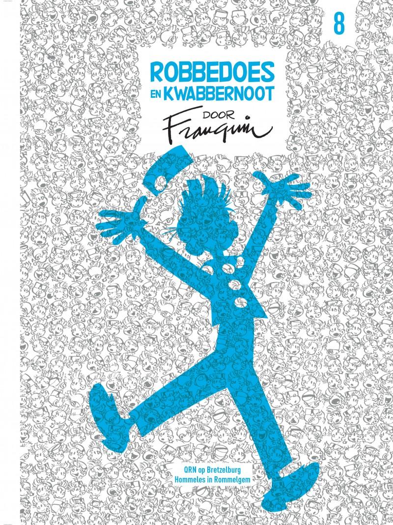 Robbedoes en Kwabbernoot door Franquin - tome 8 - Robbedoes en Kwabbernoot door Franquin 8