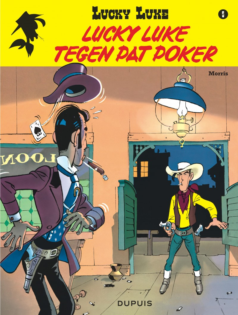 Lucky Luke (new look) - tome 5 - Lucky Luke tegen Pat Poker