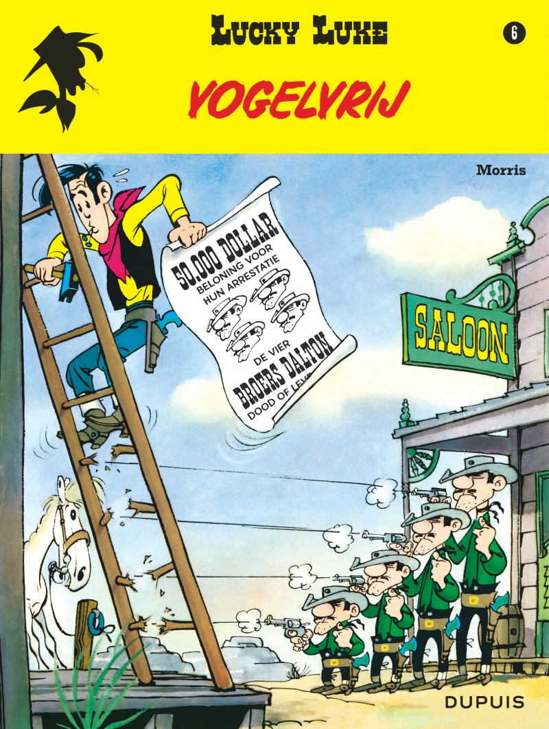 Lucky Luke (new look) - tome 6 - Vogelvrij