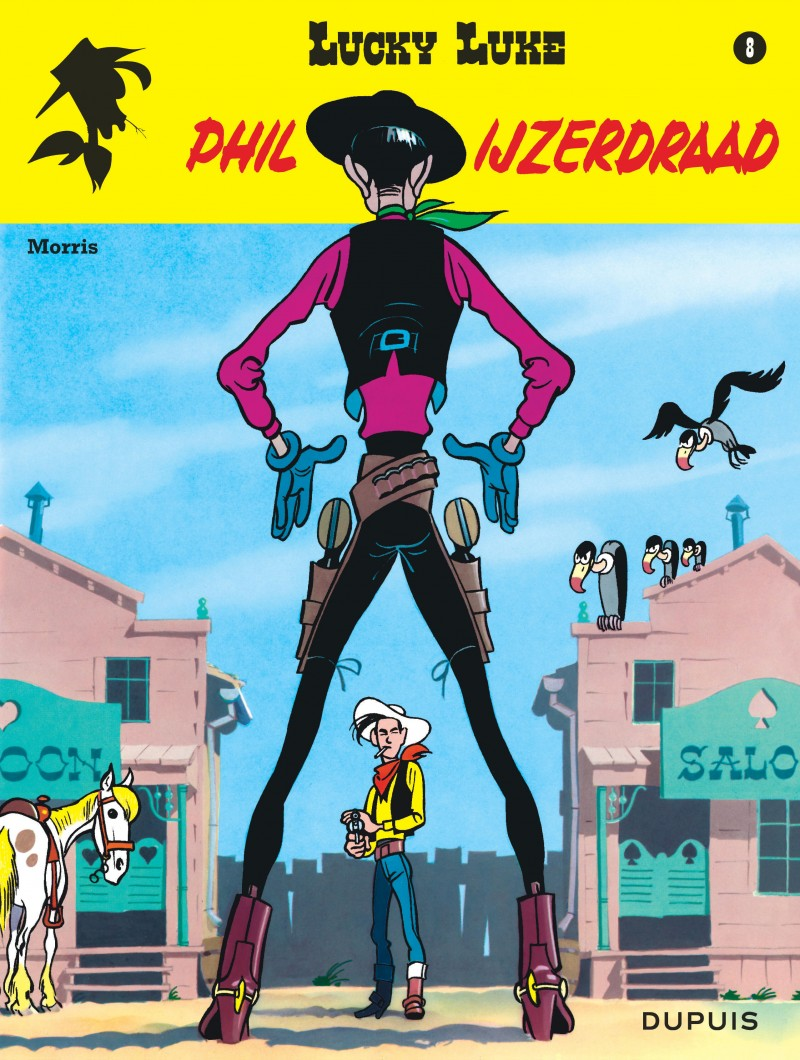 Lucky Luke (new look) - tome 8 - Phil Ijzerdraad