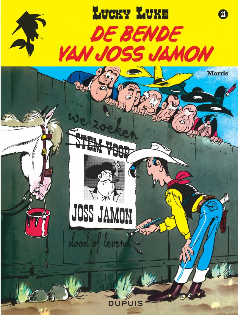 Lucky Luke (new look) - tome 11 - De bende van Joss Jamon