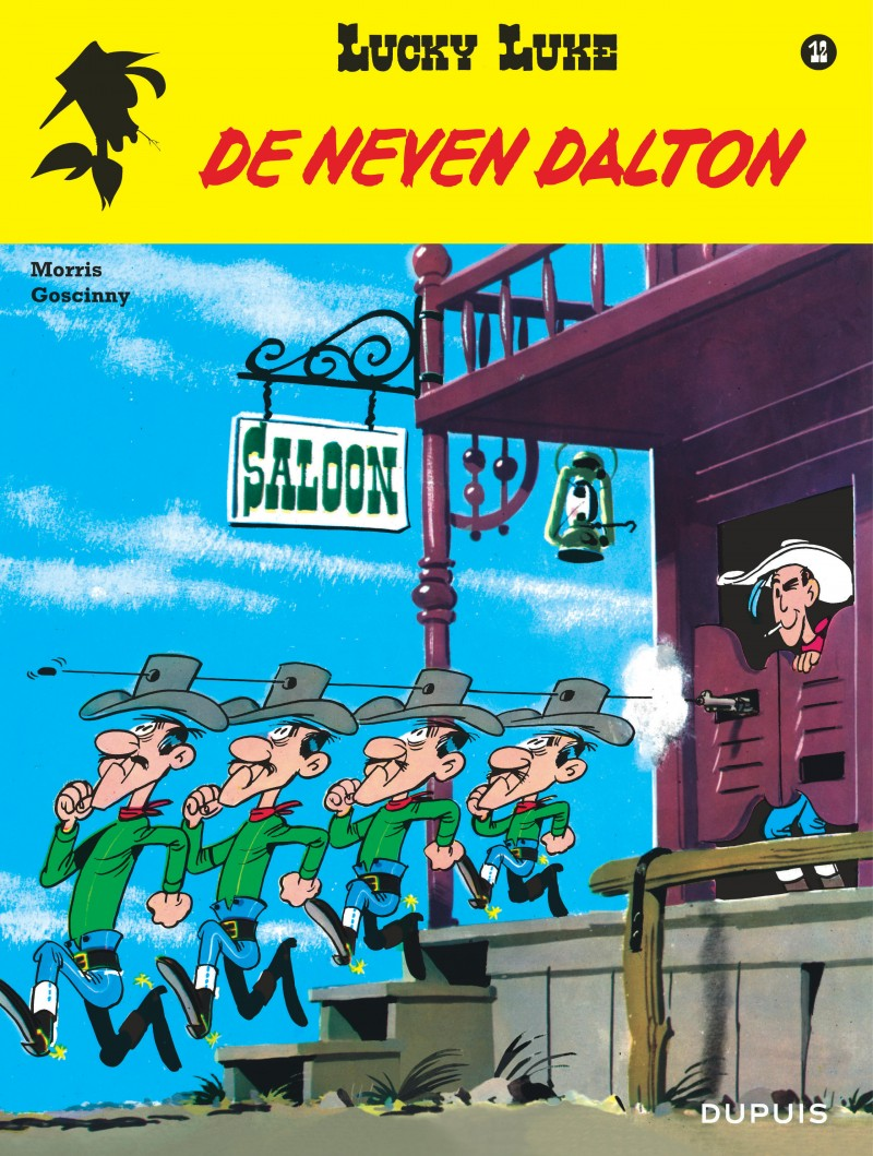 Lucky Luke (new look) - tome 12 - De neven Dalton
