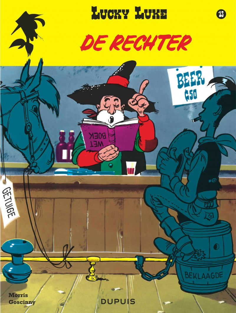 Lucky Luke (new look) - tome 13 - De rechter