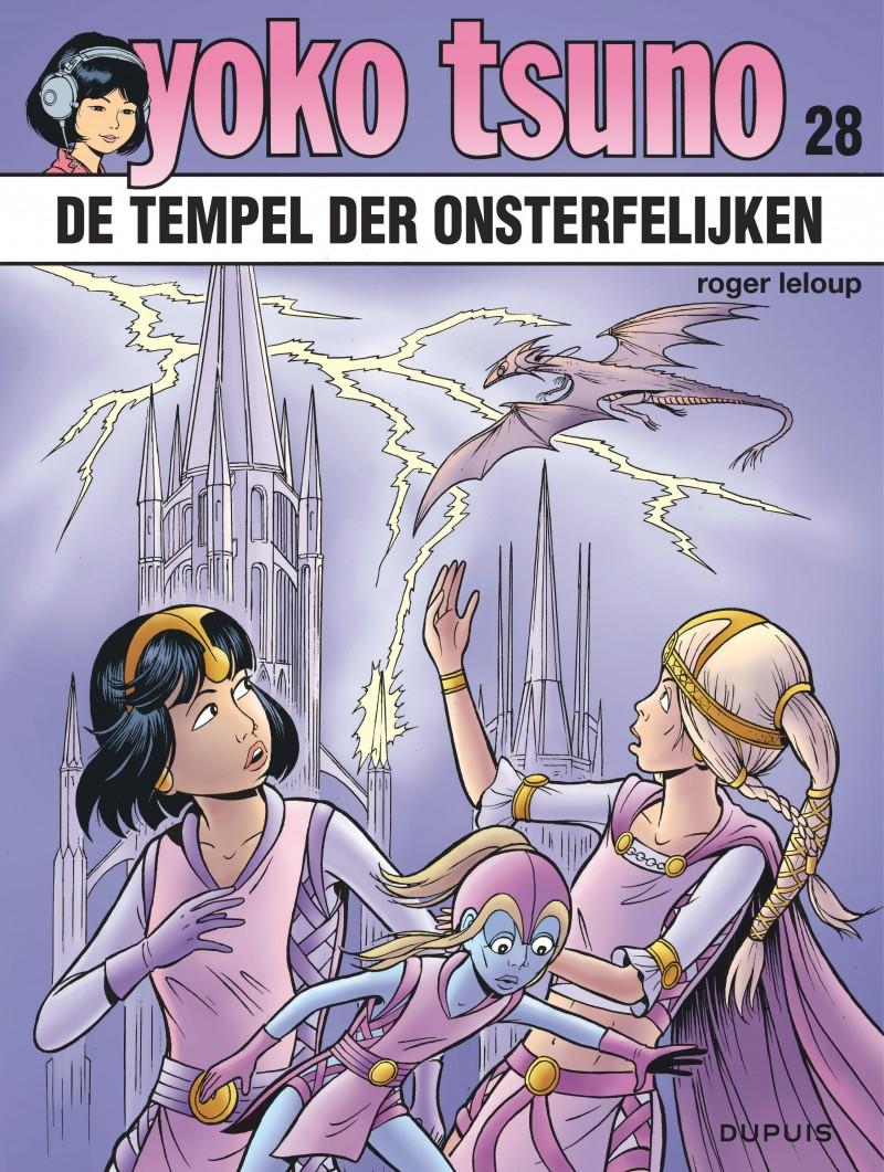 Yoko Tsuno - tome 28 - De tempel der onsterfelijken