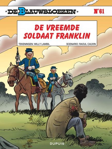De Blauwbloezen - De vreemde soldaat Franklin