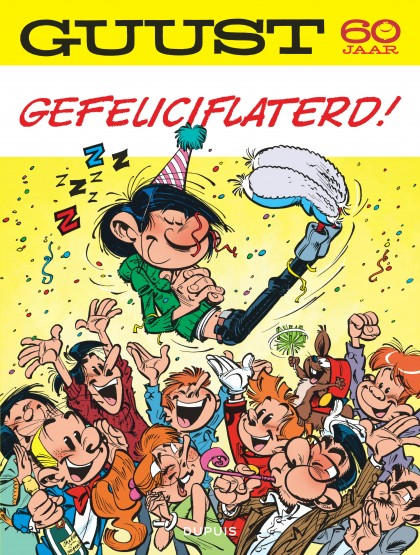 Gaston - La galerie des gaffes - Guust - 60 jaar