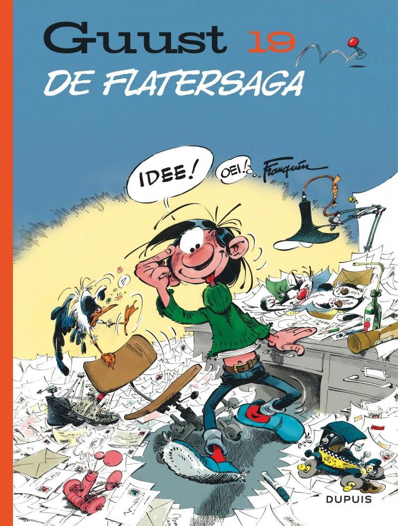 Guust Chrono - 60 jaar - tome 19 - De Flatersaga