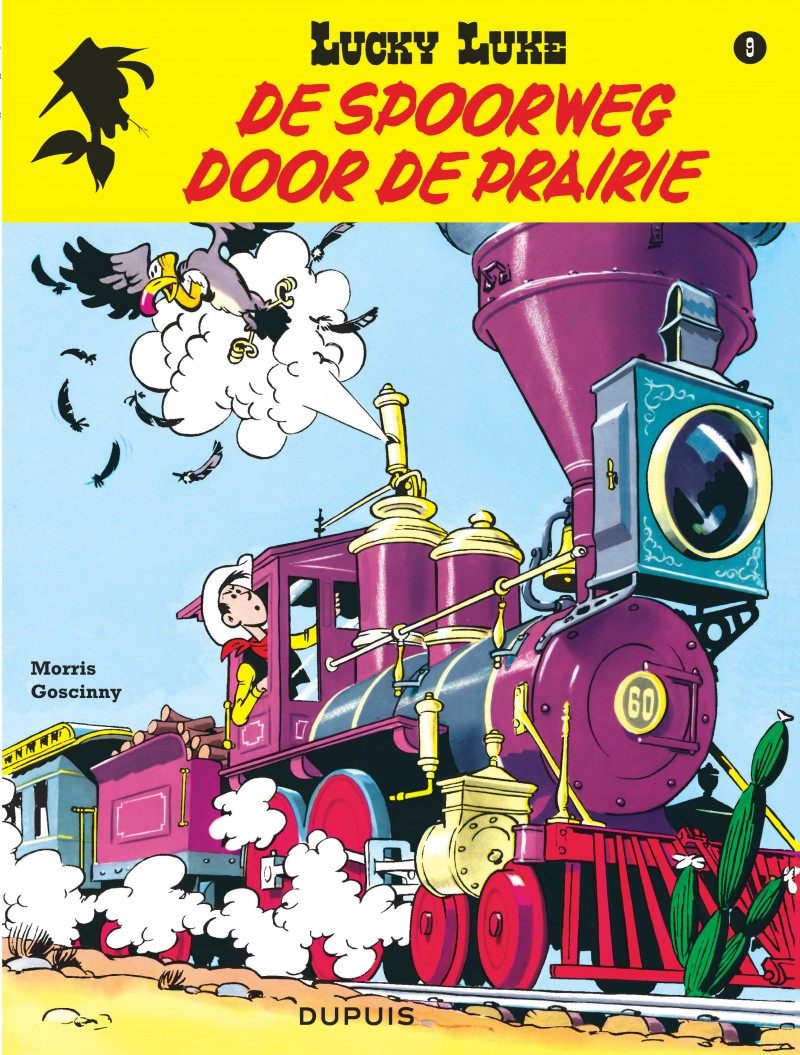 Lucky Luke (new look) - tome 9 - Spoorweg door de Prairie