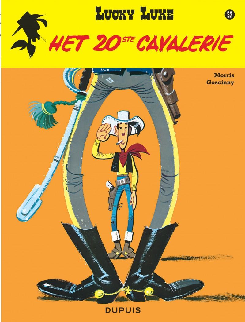 Lucky Luke (new look) - tome 27 - Het 20ste cavalerie