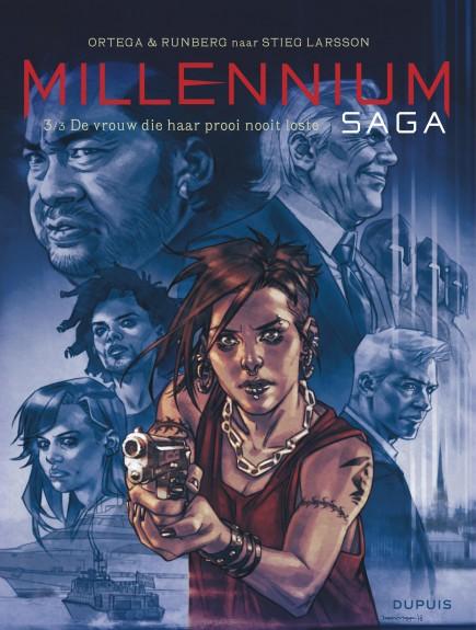 Millennium Saga - De vrouw die haar prooi nooit loste