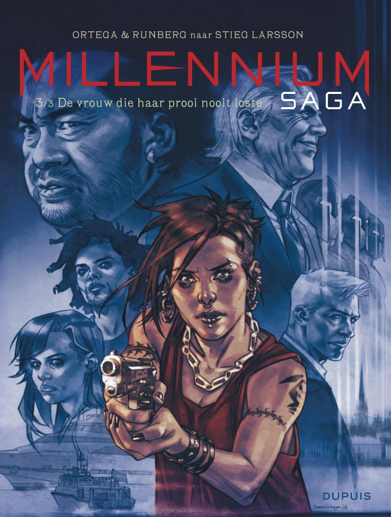 Millennium Saga - tome 3 - De vrouw die haar prooi nooit loste