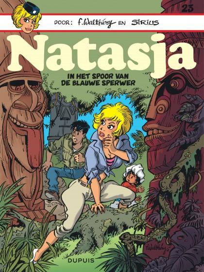 Natasja (Dupuis) - In het spoor van de blauwe sperwer