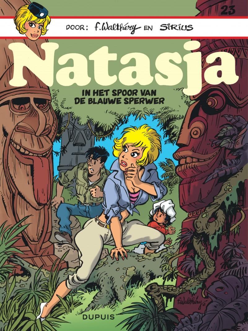 Natasja (Dupuis) - tome 23 - In het spoor van de blauwe sperwer