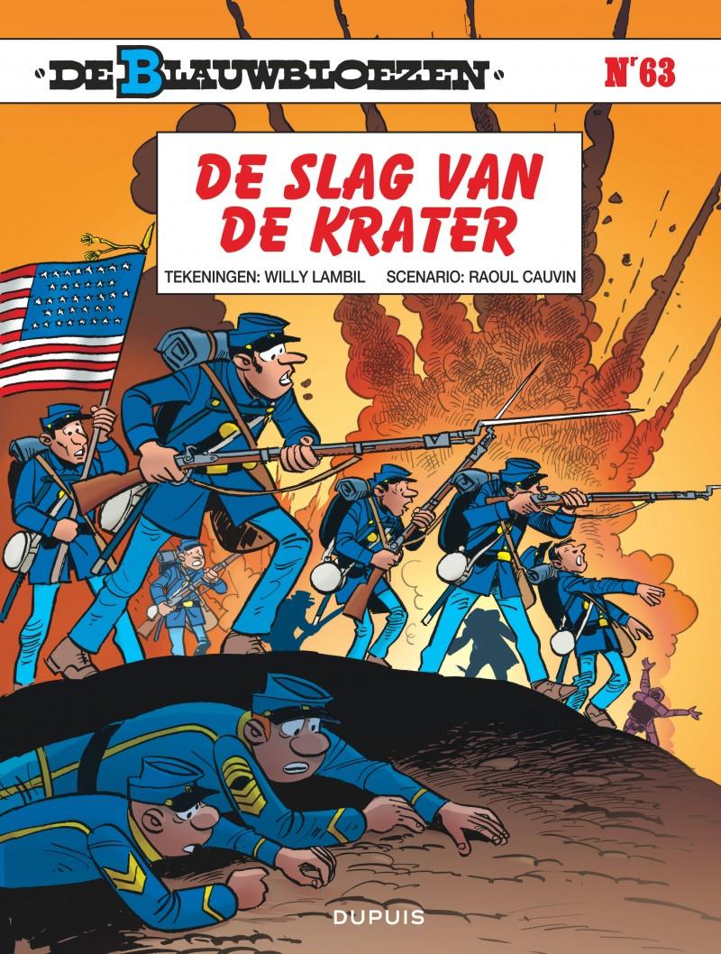 Blauwbloezen, De - tome 63 - De slag van de krater