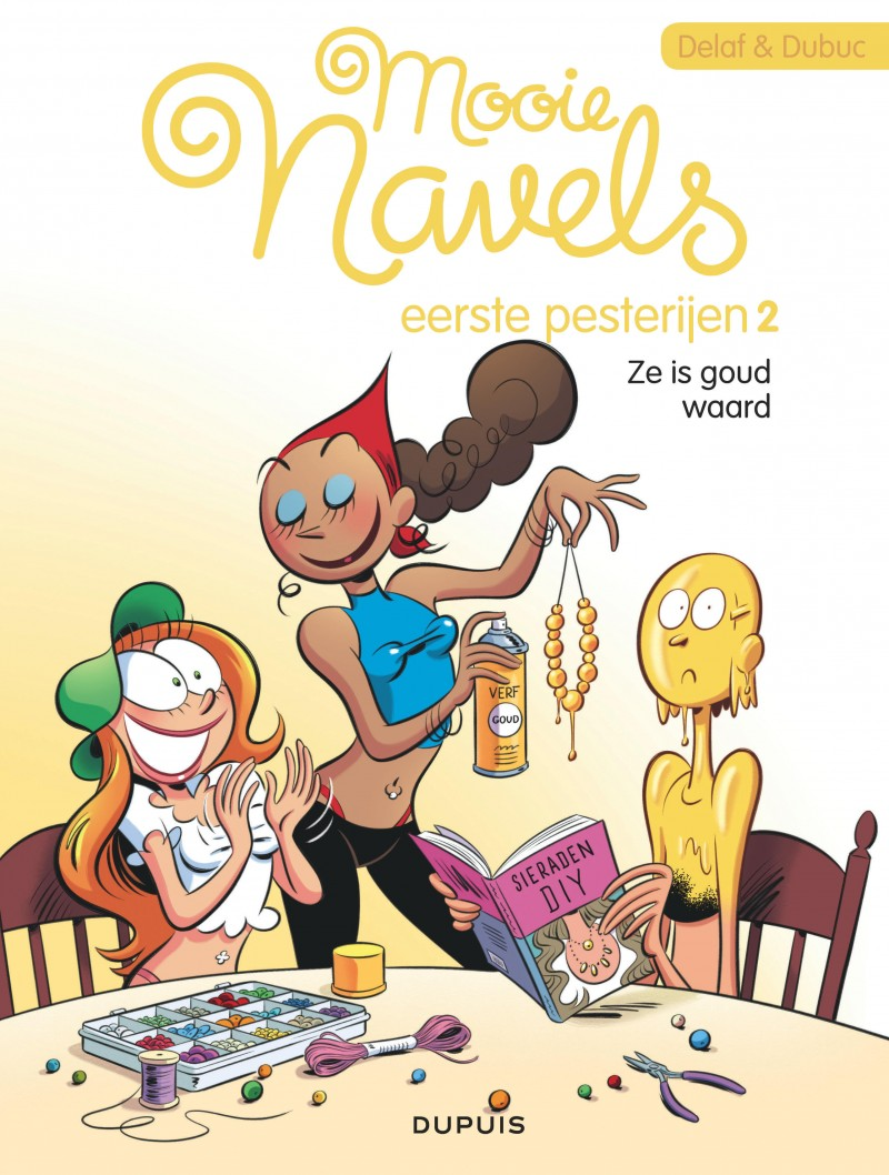 Mooie navels - Flashback - tome 2 - Ze is goud waard