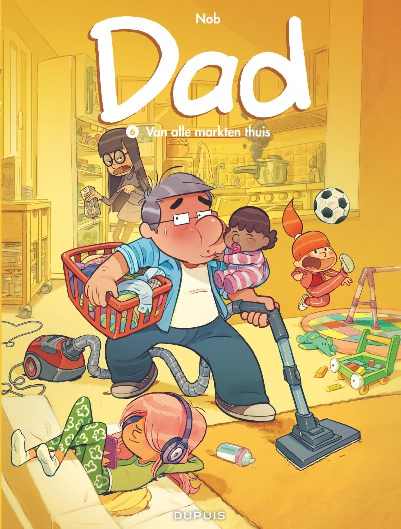 Dad - tome 6 - Van alle markten thuis