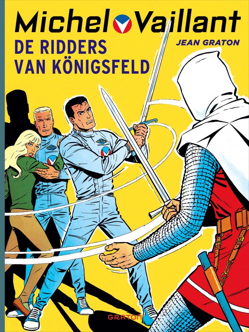 Michel Vaillant - tome 12 - De Ridders van Königsfeld