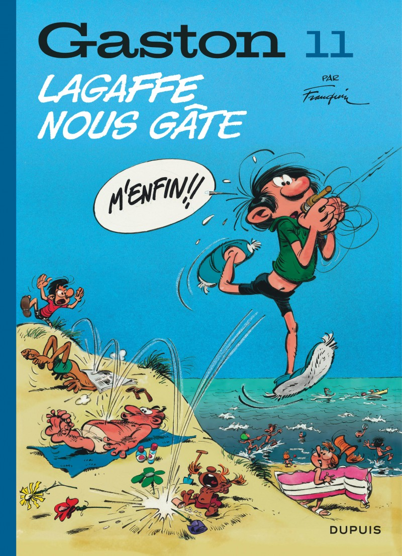 Gaston - tome 11 - Lagaffe nous gâte