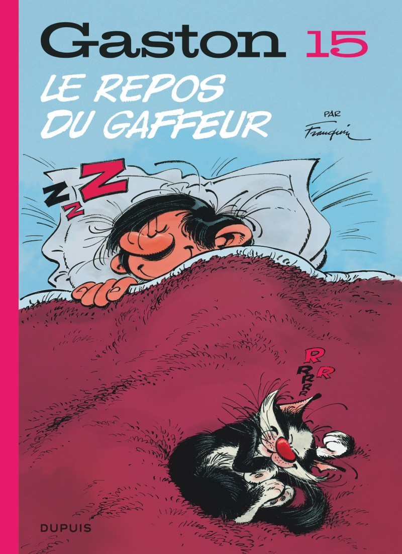 Gaston - tome 15 - Le repos du gaffeur