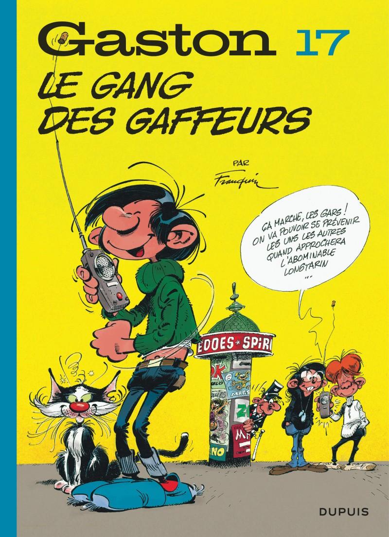 Gaston (Edition 2018) - tome 17 - Le gang des gaffeurs