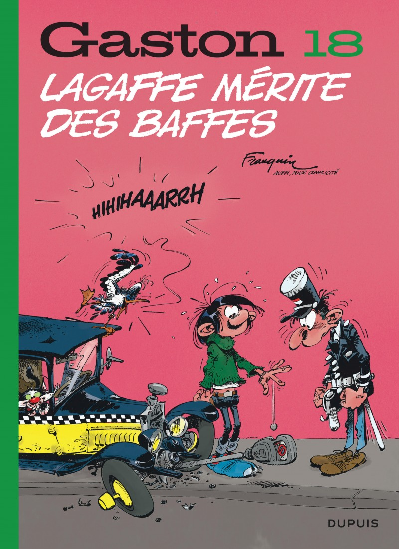 Gaston (Edition 2018) - tome 18 - Lagaffe mérite des baffes