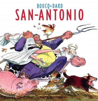 Artbook Boucq - San Antonio