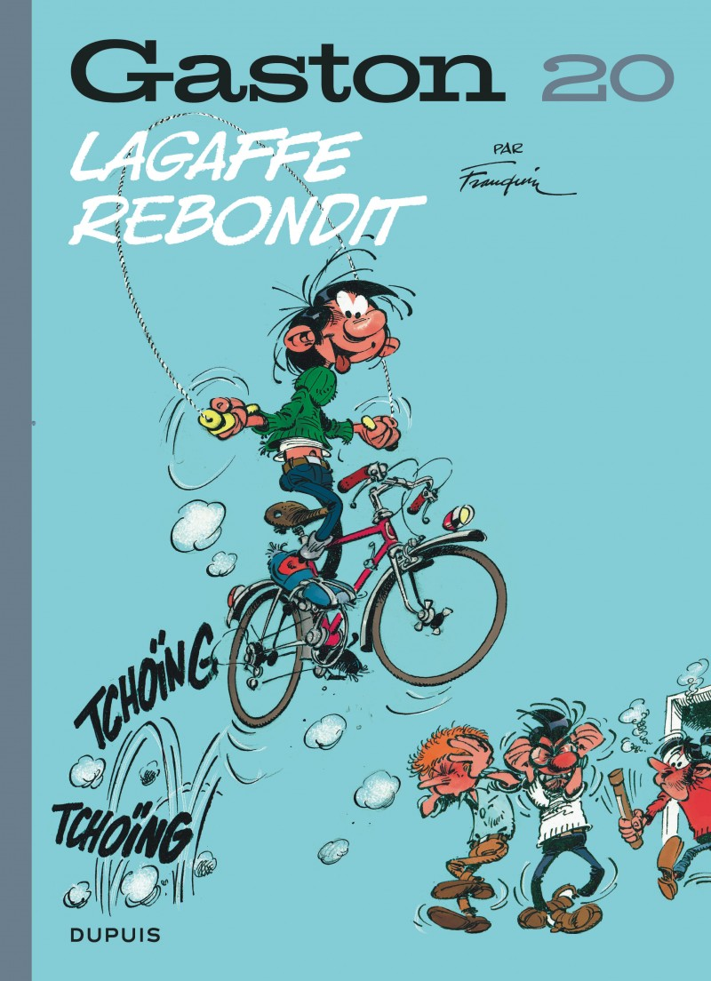 Gaston - tome 20 - Lagaffe rebondit