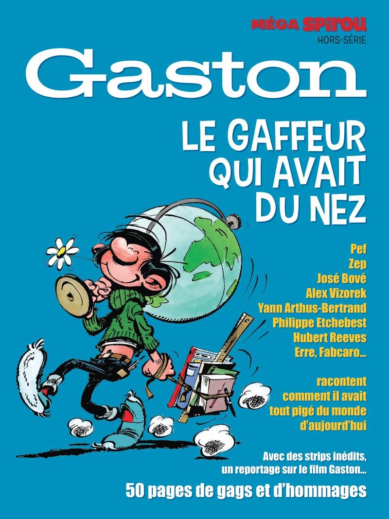 Méga Spirou Hors-Série - tome 1 - Méga Spirou spécial Gaston
