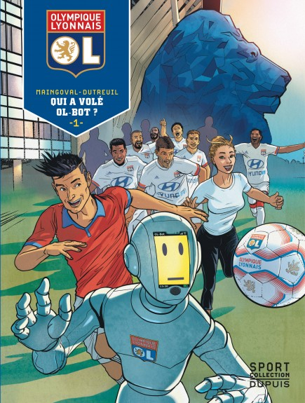 Olympique Lyonnais - Qui a volé OL-Bot ?