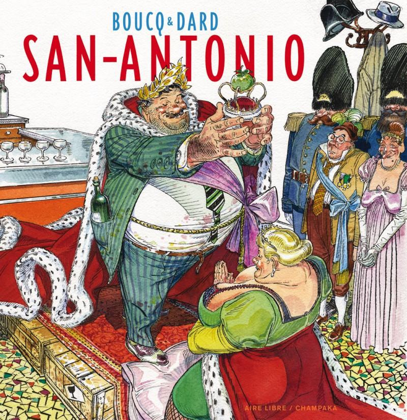 Artbook Boucq - tome 1 - San Antonio