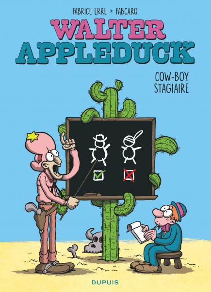 Walter Appleduck - Cow-boy stagiaire