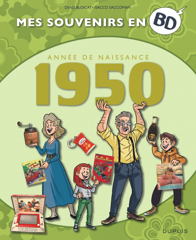 Mes souvenirs en BD - tome 11 - 1950