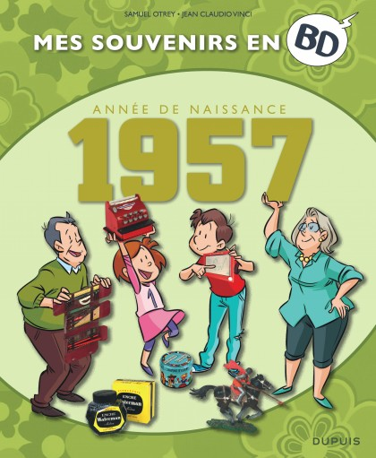 Mes souvenirs en BD - 1957