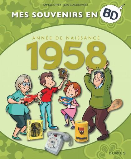 Mes souvenirs en BD - 1958