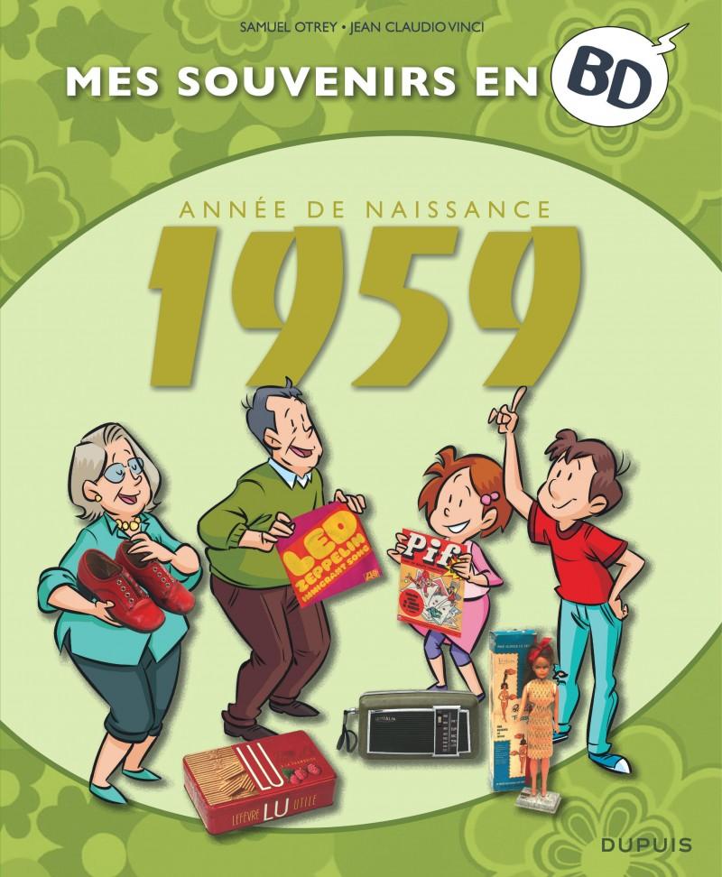 Mes souvenirs en BD - 1959