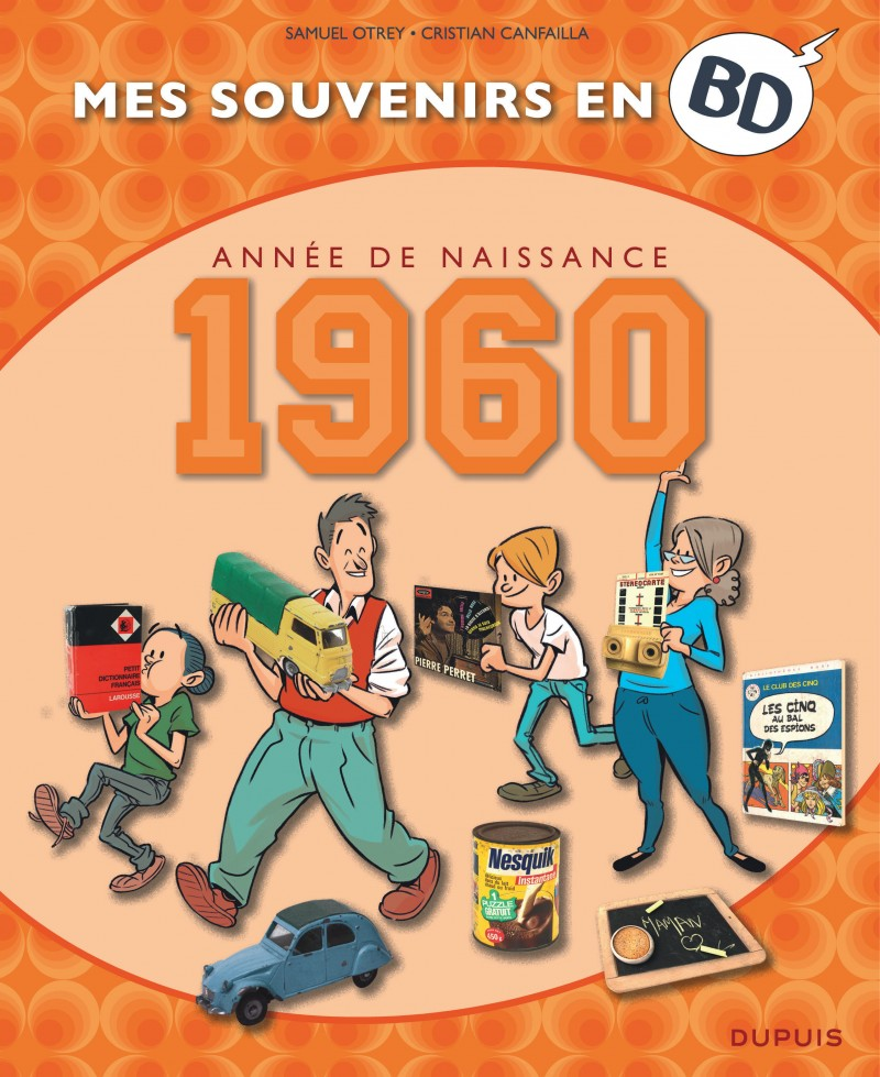 Mes souvenirs en BD - tome 21 - 1960