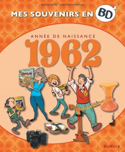 Mes souvenirs en BD - 1962