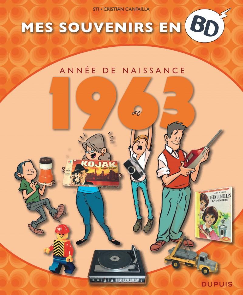 Mes souvenirs en BD - 1963
