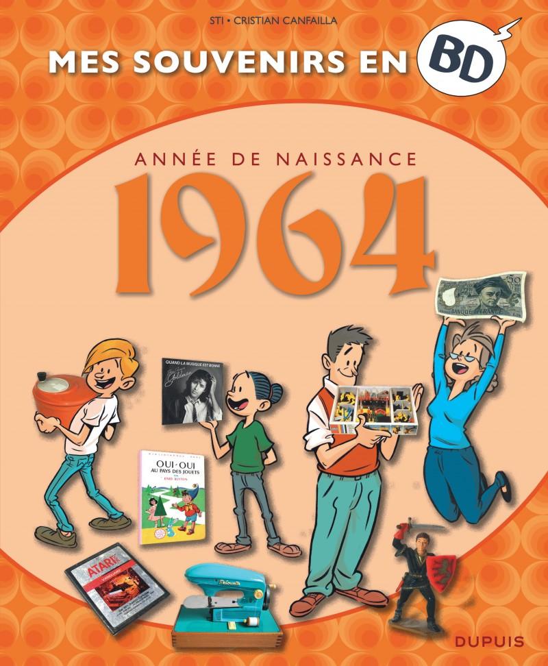Mes souvenirs en BD - 1964