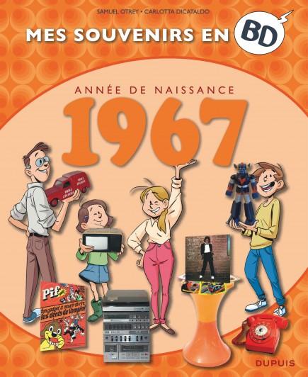 Mes souvenirs en BD - 1967