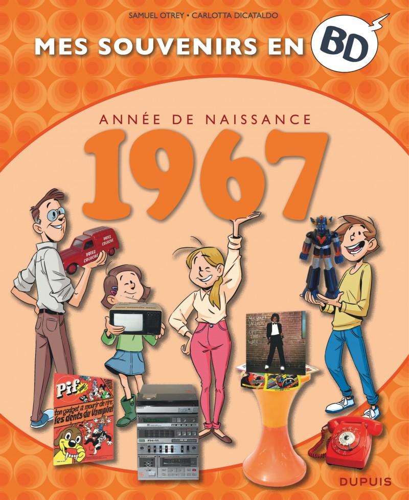 Mes souvenirs en BD - tome 28 - 1967