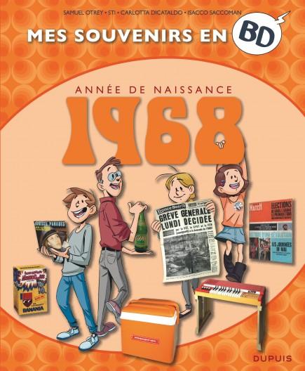 Mes souvenirs en BD - 1968