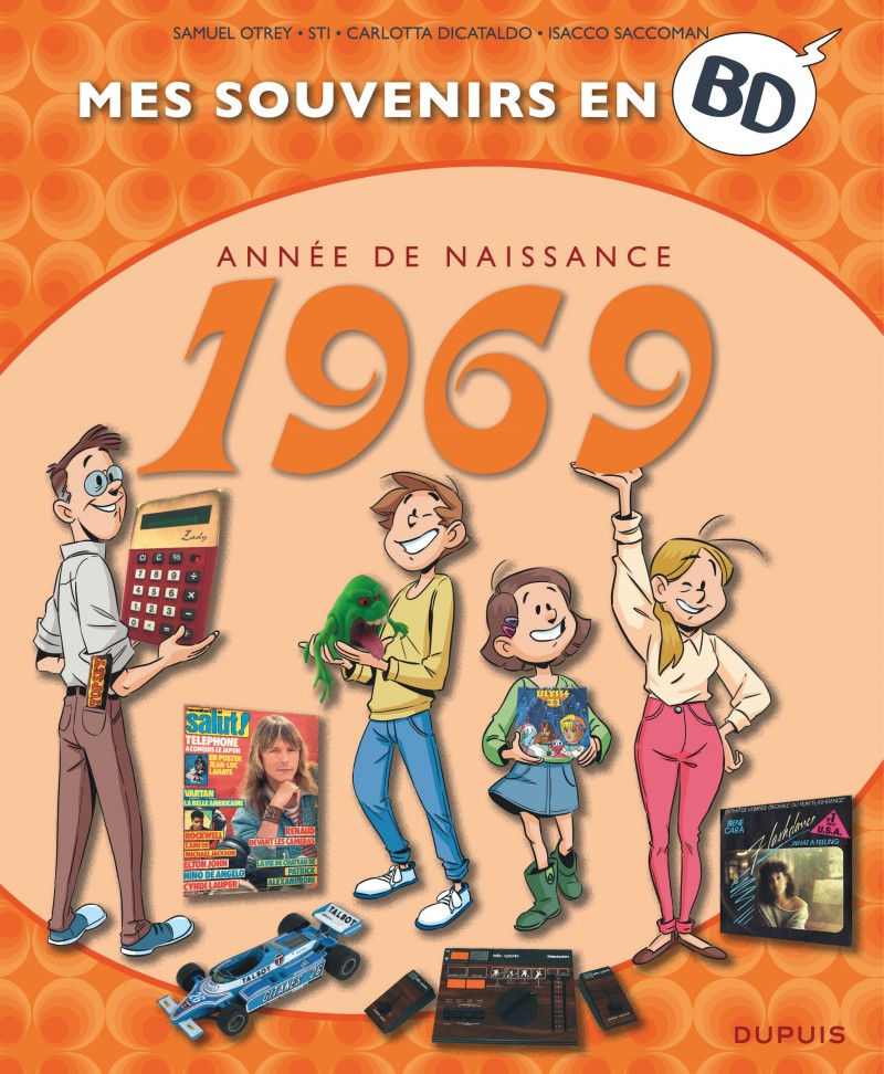 Mes souvenirs en BD - tome 30 - 1969