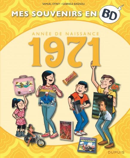 Mes souvenirs en BD - 1971