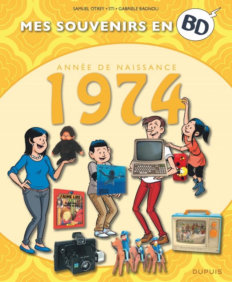 Mes souvenirs en BD - 1974