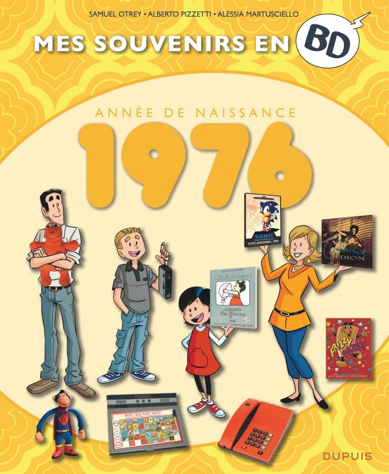 Mes souvenirs en BD - 1976