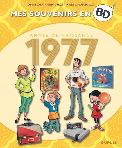 Mes souvenirs en BD - 1977