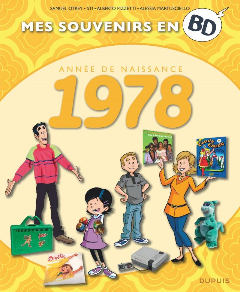 Mes souvenirs en BD - tome 39 - 1978