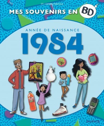 Mes souvenirs en BD - 1984